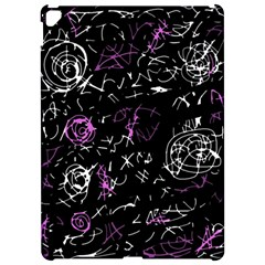 Abstract Mind   Magenta Apple Ipad Pro 12 9   Hardshell Case by Valentinaart