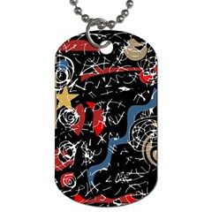Confusion Dog Tag (two Sides) by Valentinaart