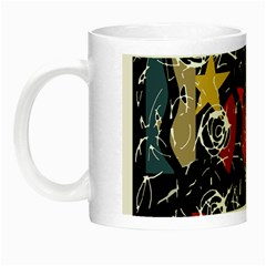 Confusion Night Luminous Mugs by Valentinaart