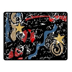 Confusion Double Sided Fleece Blanket (small)
