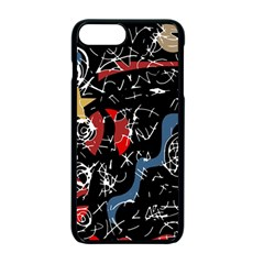 Confusion Apple Iphone 7 Plus Seamless Case (black) by Valentinaart