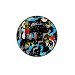 Confusion 2 Hat Clip Ball Marker by Valentinaart