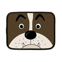 Bulldog Face Netbook Case (small)