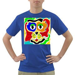 Colorful Cat Dark T Shirt