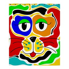 Colorful Cat Shower Curtain 60  X 72  (medium)  by Valentinaart