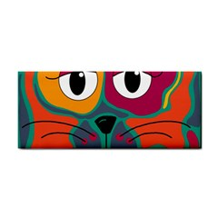 Colorful Cat 2  Cosmetic Storage Cases by Valentinaart