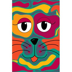 Colorful Cat 2  5 5  X 8 5  Notebooks by Valentinaart