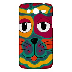 Colorful Cat 2  Samsung Galaxy Mega 5 8 I9152 Hardshell Case  by Valentinaart