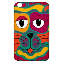 Colorful Cat 2  Samsung Galaxy Tab 3 (8 ) T3100 Hardshell Case  by Valentinaart