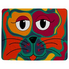 Colorful Cat 2  Jigsaw Puzzle Photo Stand (rectangular) by Valentinaart