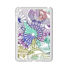Zentangle Mix 1116a Ipad Mini 2 Enamel Coated Cases by MoreColorsinLife