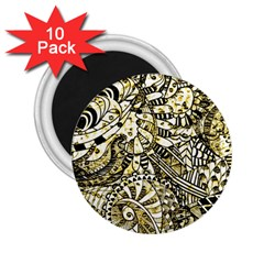 Zentangle Mix 1216a 2 25  Magnets (10 Pack)  by MoreColorsinLife