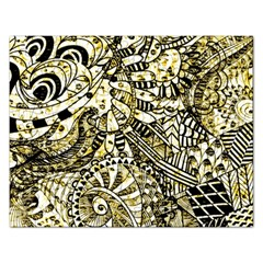 Zentangle Mix 1216a Rectangular Jigsaw Puzzl by MoreColorsinLife