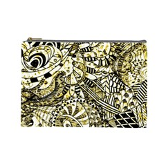 Zentangle Mix 1216a Cosmetic Bag (large)  by MoreColorsinLife