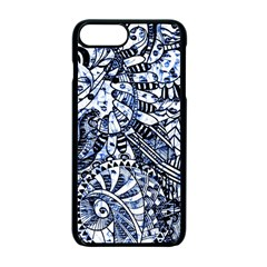 Zentangle Mix 1216b Apple Iphone 7 Plus Seamless Case (black) by MoreColorsinLife