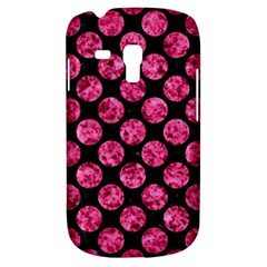 Circles2 Black Marble & Pink Marble Samsung Galaxy S3 Mini I8190 Hardshell Case by trendistuff