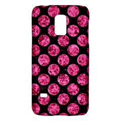 Circles2 Black Marble & Pink Marble Samsung Galaxy S5 Mini Hardshell Case  by trendistuff
