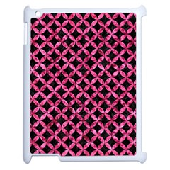 Circles3 Black Marble & Pink Marble Apple Ipad 2 Case (white) by trendistuff