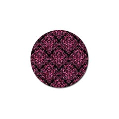 Damask1 Black Marble & Pink Marble Golf Ball Marker (10 Pack) by trendistuff