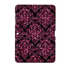 Damask1 Black Marble & Pink Marble Samsung Galaxy Tab 2 (10 1 ) P5100 Hardshell Case  by trendistuff