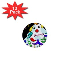 Candy Man` 1  Mini Buttons (10 Pack)  by Valentinaart