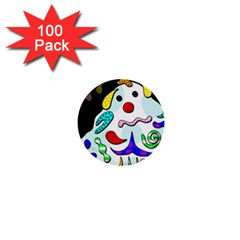 Candy Man` 1  Mini Buttons (100 Pack)  by Valentinaart