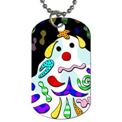 Candy Man` Dog Tag (two Sides) by Valentinaart