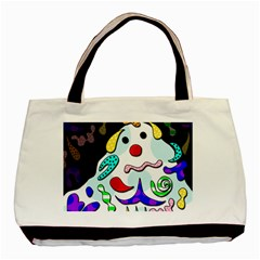 Candy Man` Basic Tote Bag (two Sides) by Valentinaart