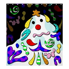 Candy Man` Shower Curtain 66  X 72  (large)  by Valentinaart