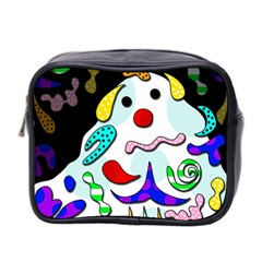 Candy Man` Mini Toiletries Bag 2 Side by Valentinaart