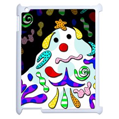 Candy Man` Apple Ipad 2 Case (white) by Valentinaart