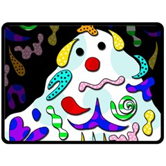 Candy Man` Double Sided Fleece Blanket (large)