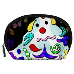 Candy Man` Accessory Pouches (large)  by Valentinaart