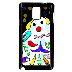 Candy Man` Samsung Galaxy Note 4 Case (black) by Valentinaart