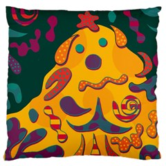 Candy Man 2 Large Cushion Case (two Sides) by Valentinaart