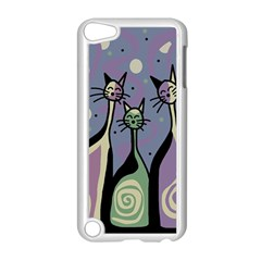 Cats Apple Ipod Touch 5 Case (white) by Valentinaart