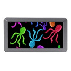 Colorful Octopuses Pattern Memory Card Reader (mini) by Valentinaart