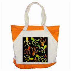 Octopuses Pattern 2 Accent Tote Bag by Valentinaart