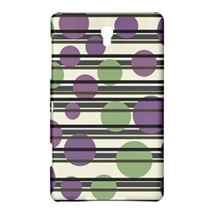 Purple And Green Elegant Pattern Samsung Galaxy Tab S (8 4 ) Hardshell Case