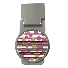 Simple Decorative Pattern Money Clips (round)