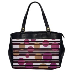 Simple Decorative Pattern Office Handbags by Valentinaart