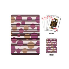 Simple Decorative Pattern Playing Cards (mini)  by Valentinaart