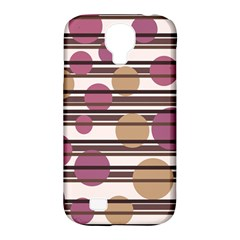 Simple Decorative Pattern Samsung Galaxy S4 Classic Hardshell Case (pc+silicone) by Valentinaart