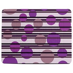 Purple Simple Pattern Jigsaw Puzzle Photo Stand (rectangular) by Valentinaart