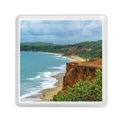 Aerial Seascape Scene Pipa Brazil Memory Card Reader (square)  by dflcprints