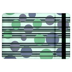Green Simple Pattern Ipad Air Flip by Valentinaart