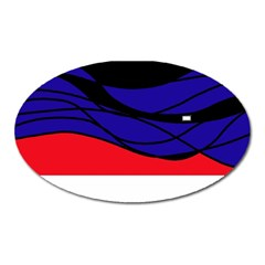 Cool Obsession  Oval Magnet