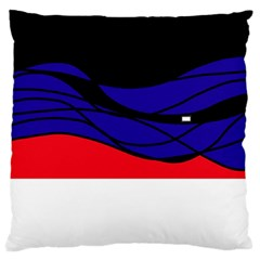 Cool Obsession  Standard Flano Cushion Case (two Sides) by Valentinaart