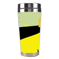 Party In The Desert  Stainless Steel Travel Tumblers by Valentinaart
