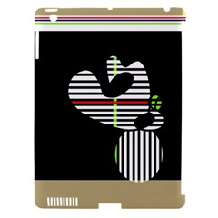 Abstract Art Apple Ipad 3/4 Hardshell Case (compatible With Smart Cover) by Valentinaart